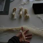 Spun thread